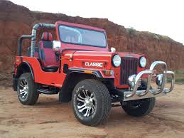 jeep car mahindra modifed mahindra thar crde with hardroof jeepclinic