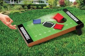 outdoor backyard bags football target board lawn game set