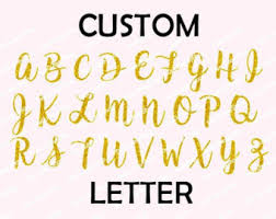glitter u0026 matte iron on cursive letters script numbers and