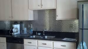kitchen backsplash home depot stainless steel tile backsplash home depot roselawnlutheran