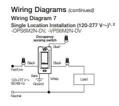 occupancy sensor switch wiring diagram wiring diagram