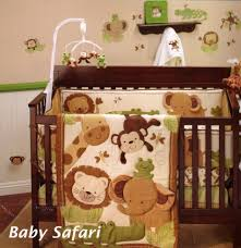 Monkey Crib Bedding Sets Baby Bedding Sets Giraffe Creative Ideas Of Baby Cribs
