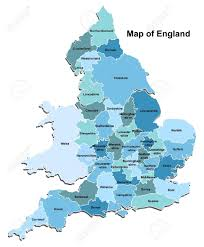 Maps Of England by Map Of England Royalty Free Cliparts Vectors And Stock