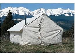wall tent montana canvas 10 x 12 wall tent 5 stove jack 10oz canvas mpn 4