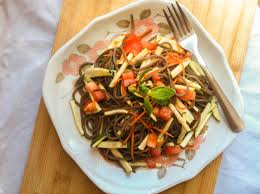 Noodle Salad Recipes Soba Noodle Salad With Spicy Soy Lime Dressing Cooking With A