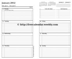 printable calendar 8 5 x 11 a guide to 8 5 x 11 weekly planner printable planner template