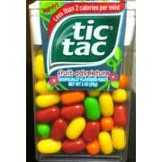 tic tac tic tac mints fruit adventure calories nutrition analysis