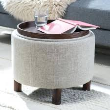 Ottomans With Trays Storage Ottoman With Tray Top 2 Tray Top Storage Ottoman Coffee