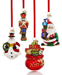 christopher radko ornaments and snow globes macy s