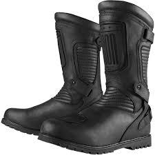 steel toe motorcycle boots icon 1000 prep waterproof boots jafrum motorsports