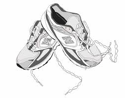 walking tennis shoes clipart 3 wikiclipart