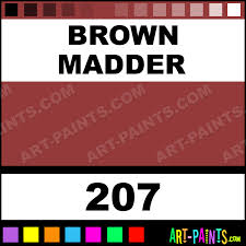 brown madder artist oil paints 207 brown madder paint brown