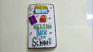 welcome back to card for kids very simple card making