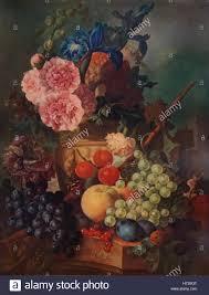 ornamental vase of flowers and fruit c1798 1938 artist jan