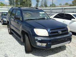 how much is a 1999 toyota 4runner worth salvage toyota 4runner for sale at copart auto auction autobidmaster