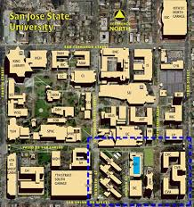 san jose state map facilities development operations administration and finance