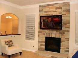 articles with installing tv above fireplace wiring tag fetching
