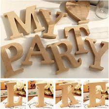 Home Decor Letters Of Alphabet Letter Shaped Modern Home Décor Hanging Signs Ebay