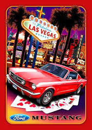 used mustang las vegas sign las vegas nevada with a ford mustang sign fd06