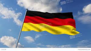 german flag stock animation 1131158