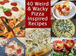 Wacky Garden Ideas 40 Wacky Pizza Inspired Recipes Jpg