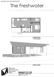 Granny Flat Floor Plans 1 Bedroom Maap Designs Gallery U2014 Maap House