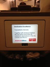 American Airlines Flight Entertainment by Swiss International Airlines Providing Time Travel As Well As