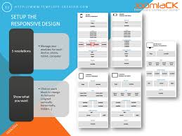 responsive design template set the responsive design for your joomla template