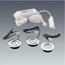 spot halogene cuisine kit 3 spots à encastrer eclairage halogene accessoires de cuisines