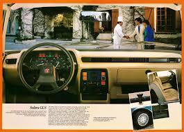 solara 1983 talbot solara brochure