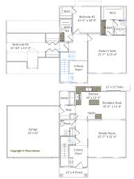Floor Plans For 2 Story Homes by Two Story Homes Place Homes