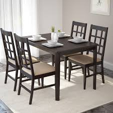 atwood transitional rectangular dining table rich cappuccino