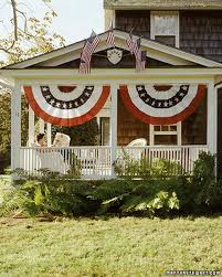 creative ways to display the american flag martha stewart
