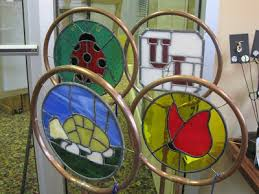 the sheltowee shop bill brumm stained glass garden ornaments