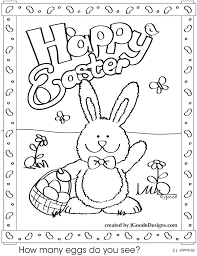 easter coloring pages printable happy various coloring