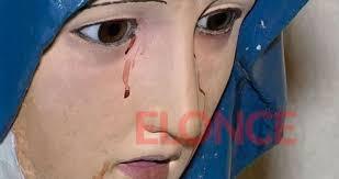 imágenes religiosas que lloran sangre virgen que llora sangre conmociona a paraná tucumán a las 7