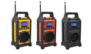 pyle rugged bluetooth speaker groupon goods