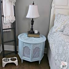 Upcycled Side Table Fancy Diy Pet Bed From Upcycled Side Table