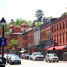 the quaint and picturesque town of galena il has a main street