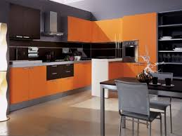 colourful kitchen cabinets orange stained cabinets colours for kitchen cabinets designs