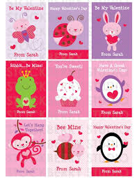 kids valentines cards wish every month was valentines for these crysan