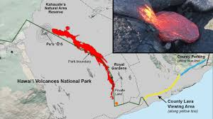 Hawaii Lava Flow Map Lava Update From Epic Lava July 10 2016 Youtube