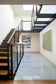 Modern Staircase Ideas Interior Oak Wood Architectural Stair In Wall Mounted Idea