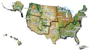 map of united states showing states and cities map of the united states showing the climate hub regions a flickr