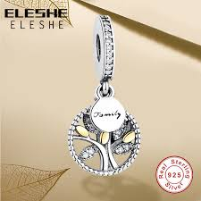 bracelet luxury charms images 925 sterling silver family tree with cubic zirconia bead charms jpg