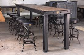 bar height table industrial firehouse bar table model fh9 vintage industrial furniture