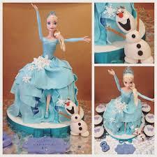 frozen doll cake elsa cakecentral com