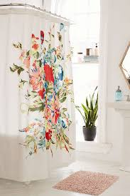 Designer Shower Curtain Decorating Decorative Shower Curtains With Valance And Square Rug For Modern