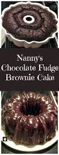 nanny u0027s chocolate fudge brownie cake keeper recipe easy