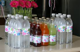 Printable Halloween Drink Labels by How To Make Custom Water Bottle Labels U2013 Glorious Treats
